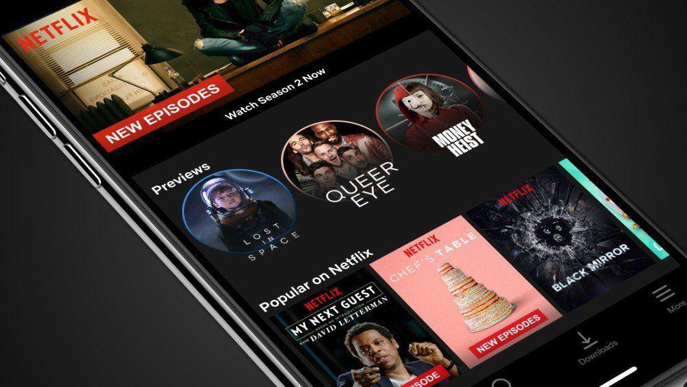 "Netflix suma ""stories"" de series en su app para celulares"
