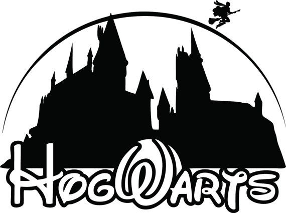 Hogwarts disney harry potter logo decal sticker re designed 6 00 free shipping