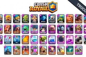Descubre todas las cartas de Clash Royale | clash of clan ...