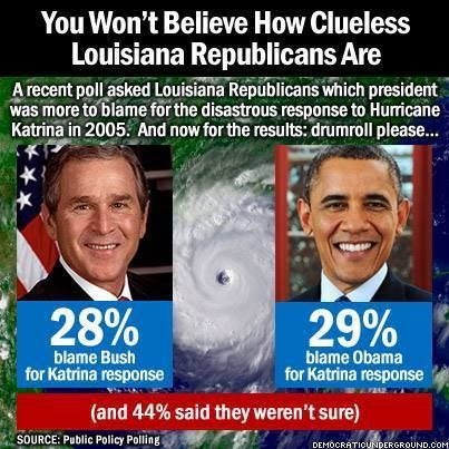 Image result for where was obama during hurricane katrina