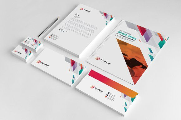 Stationery by GenerousArt on Creative Market #stationery #corporate #identity #t...