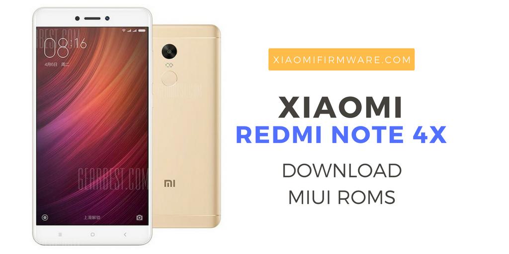 Download Redmi Note 4X Custom and Global MIUI Roms | Xiaomi