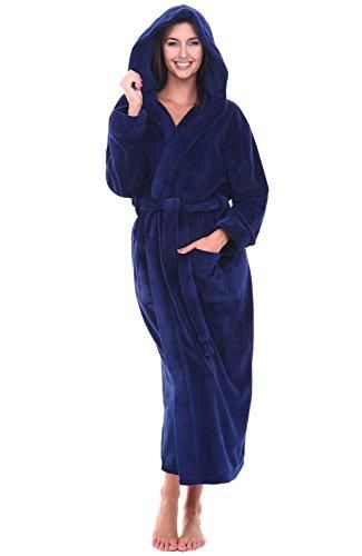 eaa74f8e21 Alexander Del Rossa Womens Fleece Robe