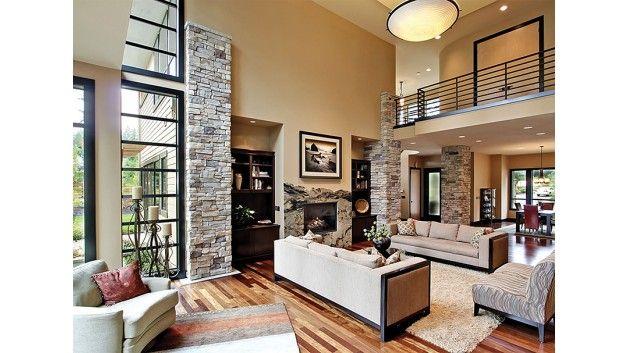 Modern Style House Plan 4 Beds 4 5 Baths 4750 Sq Ft Plan