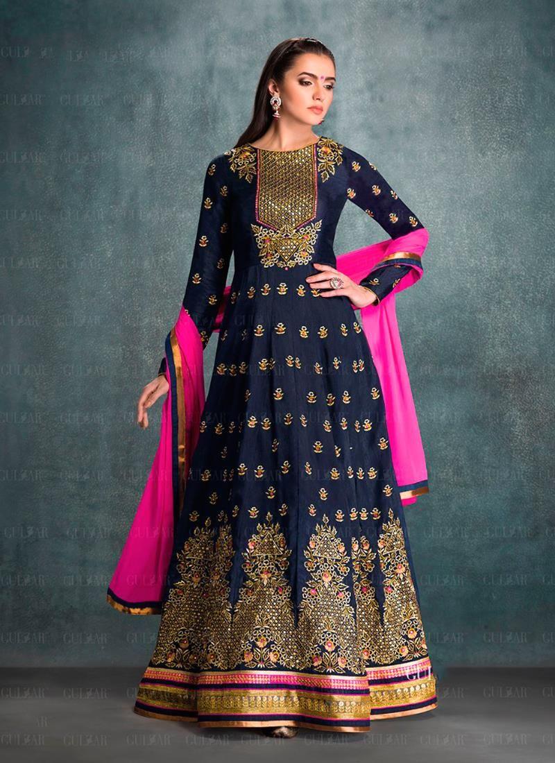 Online anarkali shalwar kameez shopping from latest anarkali suits ...