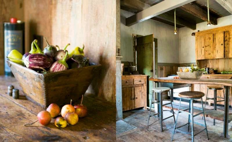 Yellow house on the beach: Rustic three ways