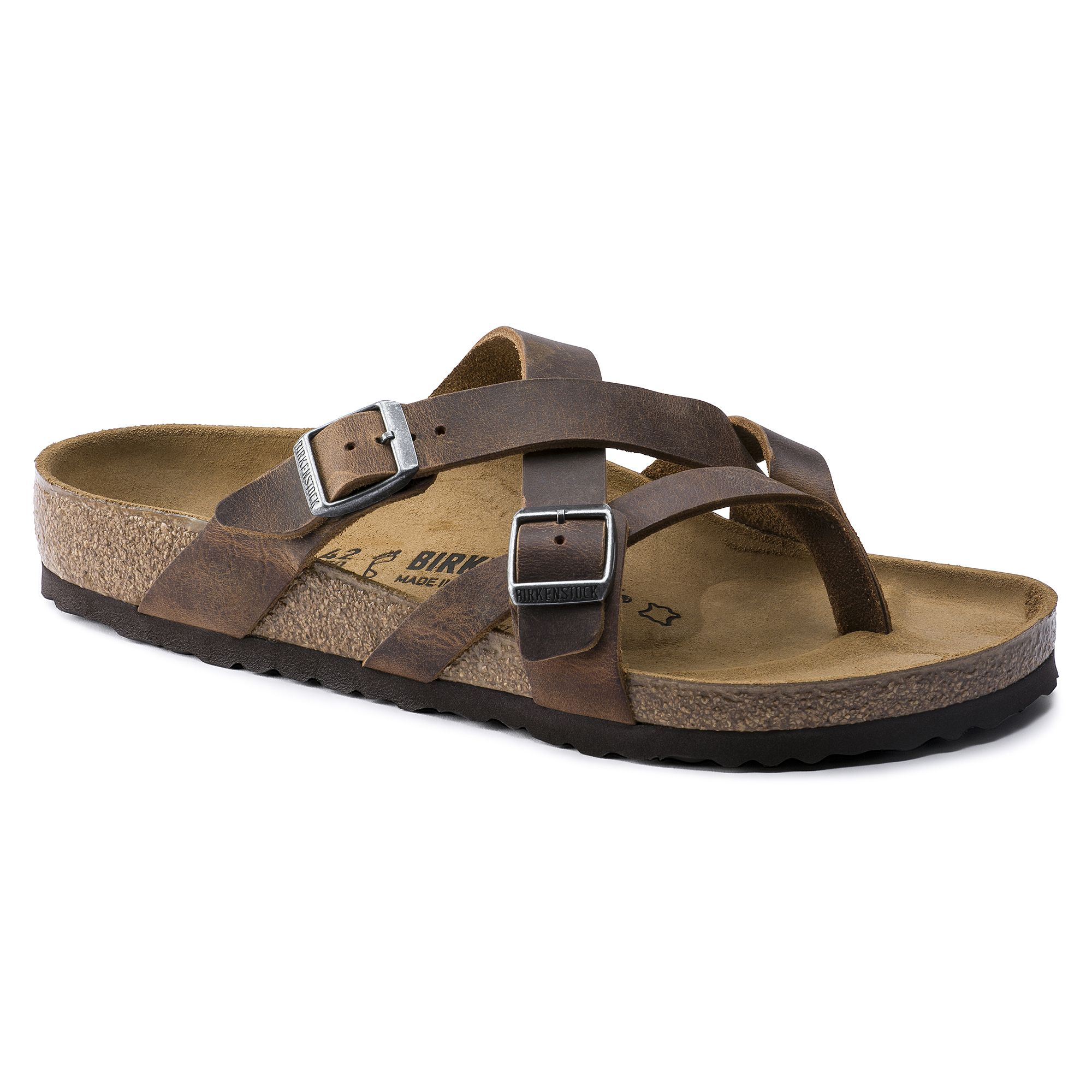 dc5458c0681 BIRKENSTOCK Temara Natural Leather Camberra Old Black in all sizes ✓ Buy  directly from the manufacturer online ✓ All fashion trends from Birkenstock