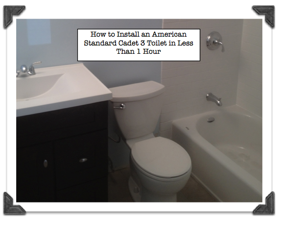 Etonnant Step By Step How To Install American Standard Cadet 3: The Easiest Toilet  Youu0027ll Ever Install