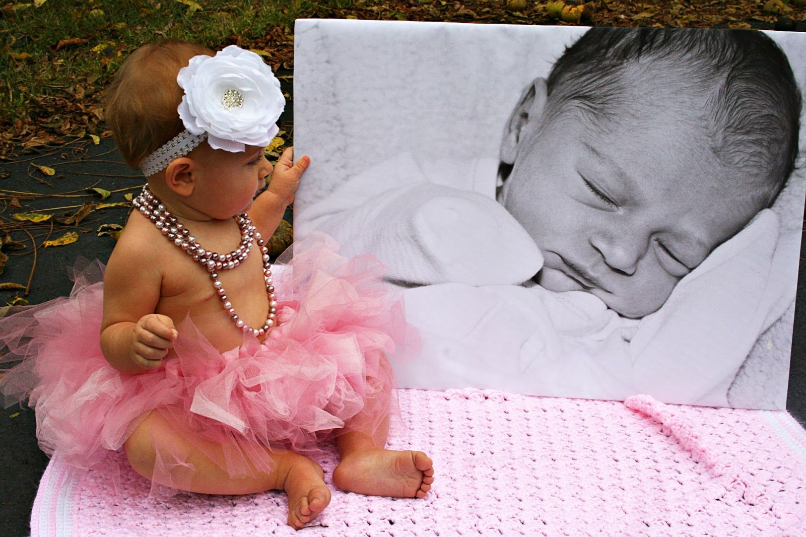 first birthday photo ideas. rustic baby pictures. simple ...