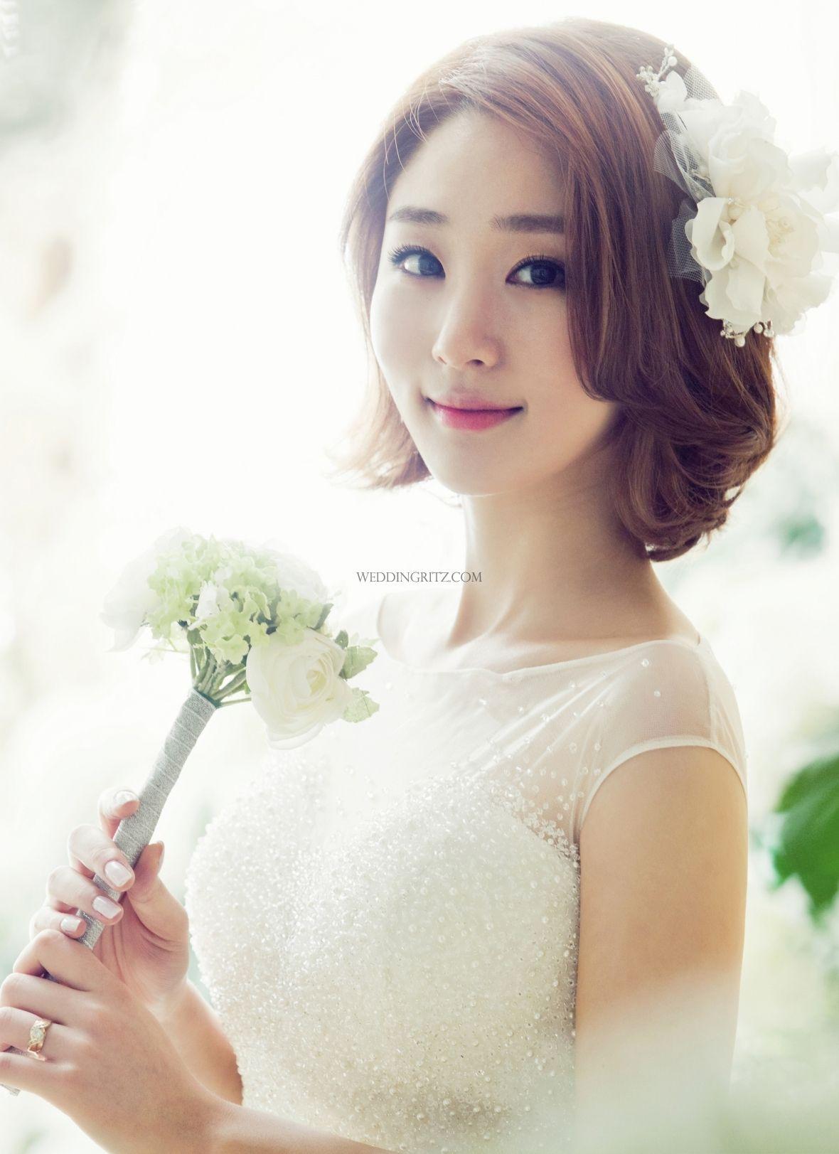 The Jay Salon in Korea Hair & Makeup Sample   Korean Bridal Hair ...