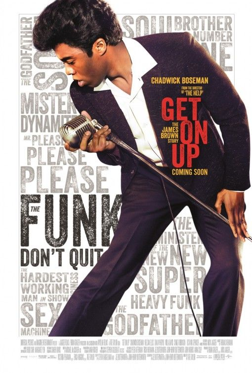Image result for get on up movie poster