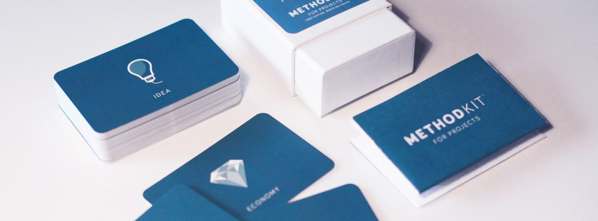 Method cards for different needs.   method cards + tool kits ...