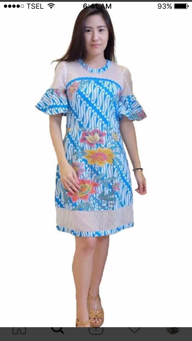 Batik modern  Batik  Pinterest  Modern Kebaya and Batik dress