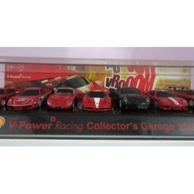 Shell V Power Ferrari Garage Car Collection 2008 New X1unit Selling Price Myr 2oo Oo Free Postageconsist Of 7 Cars Comp Car Collection Seller The Original