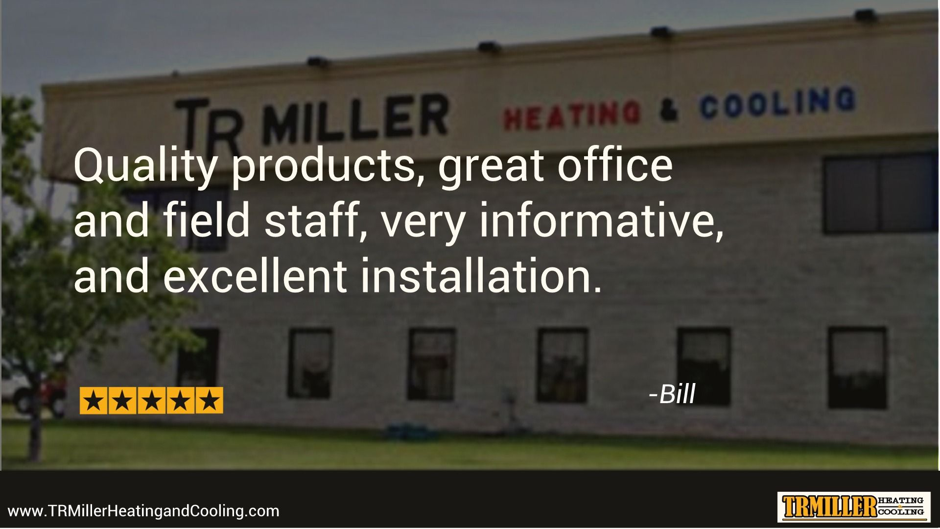Happy Customer Thanks Bill Tr Miller Installed A New Ac Unit