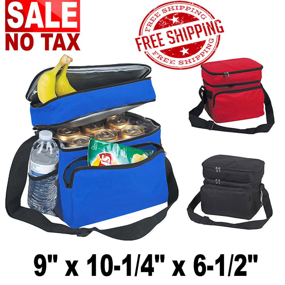 Cooler Bag Large School Work Men Women