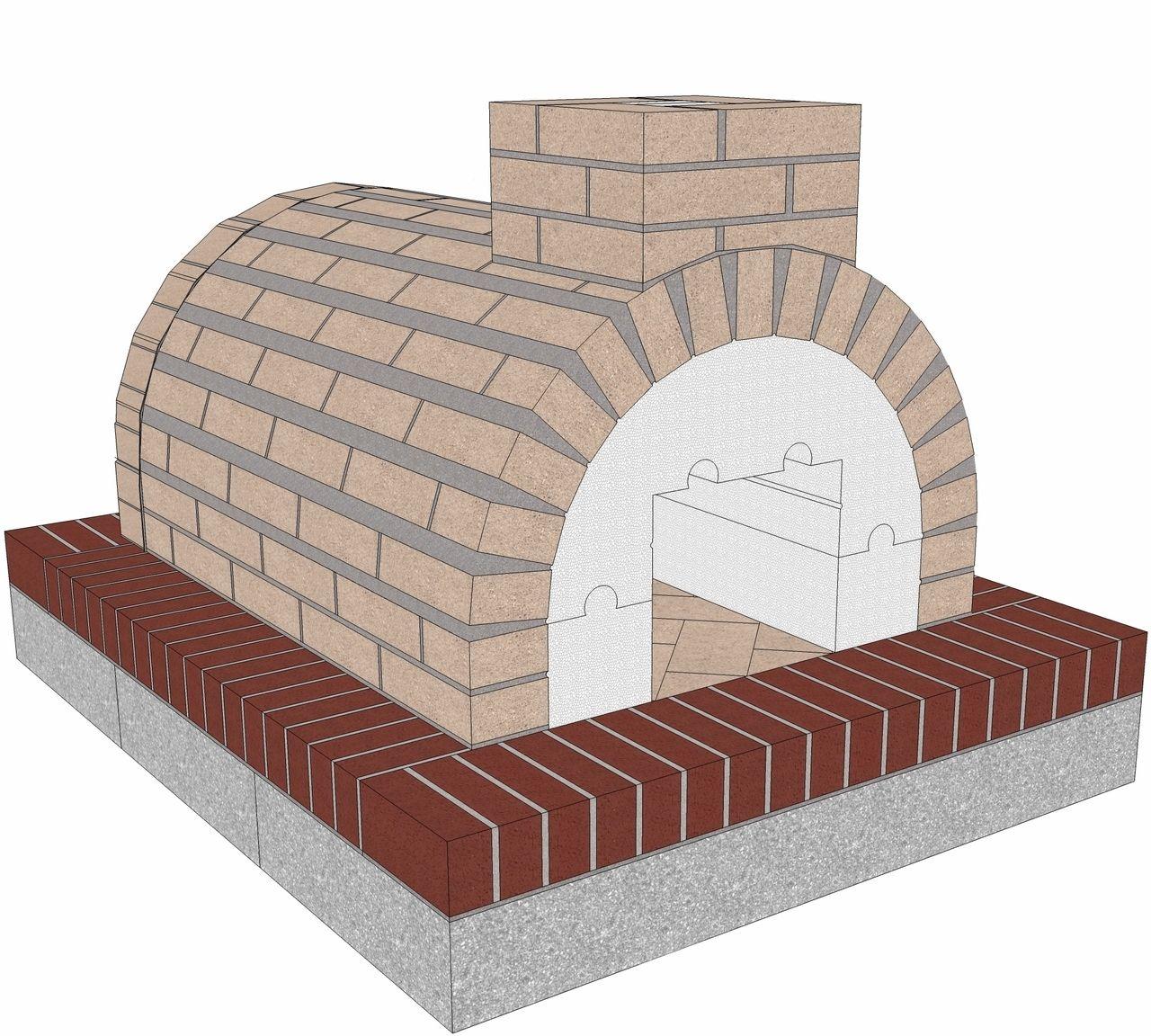 Mattone Barile Package 3 Asador de carbon, Horno de
