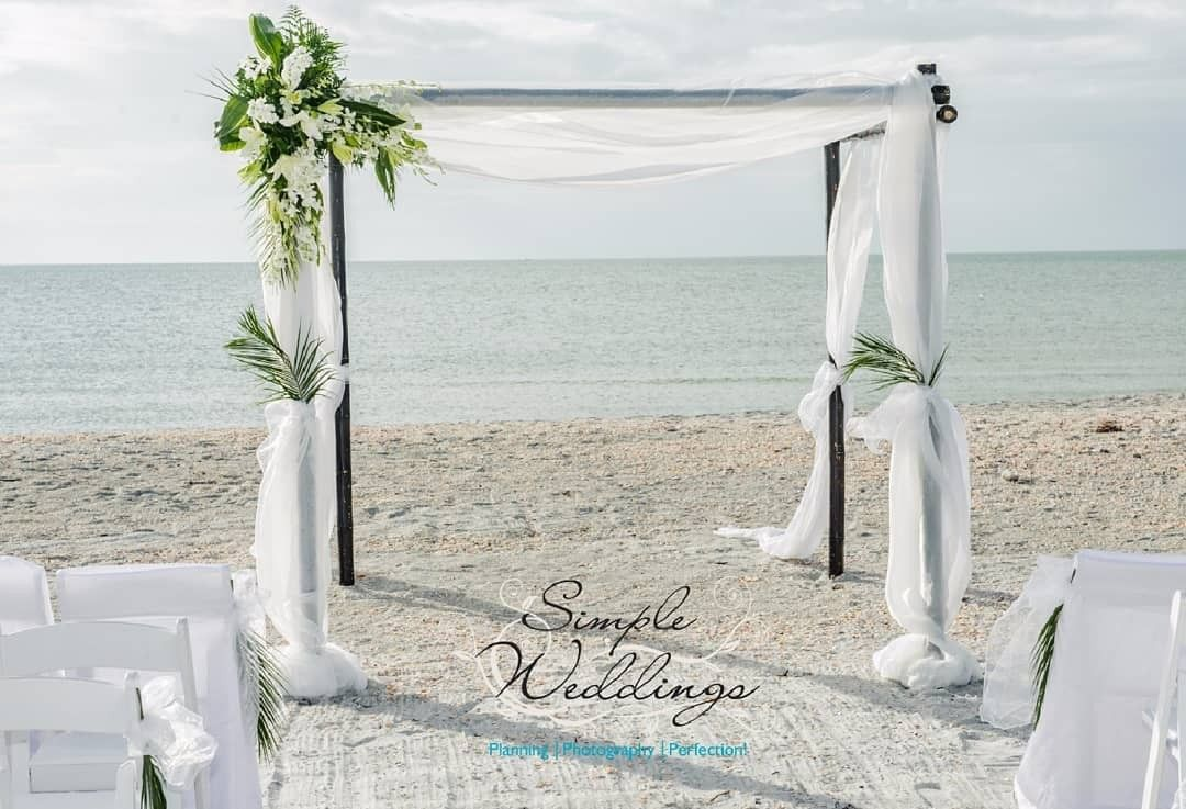 Image by Simple Weddings on Beach Weddings Destin