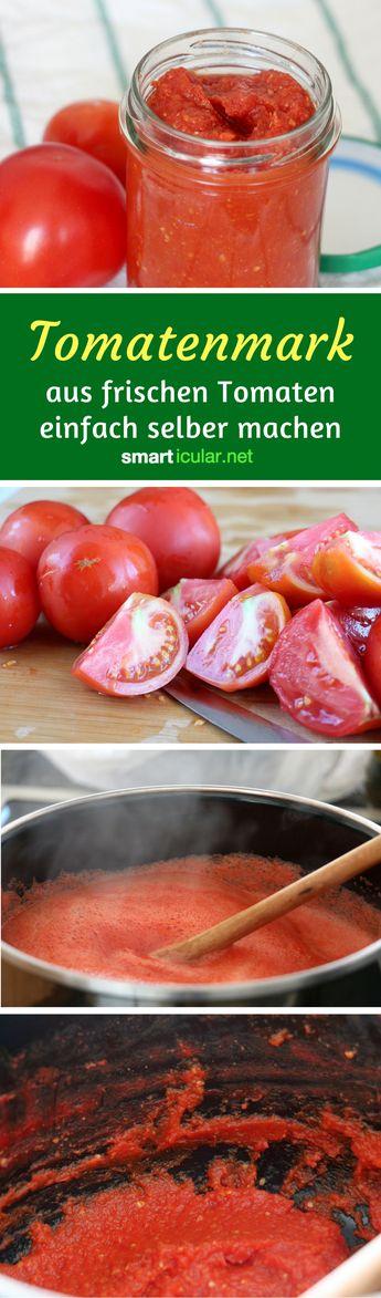 tomatenmark einfach selber machen wieder ein fertigprodukt weniger 1 pinterest. Black Bedroom Furniture Sets. Home Design Ideas