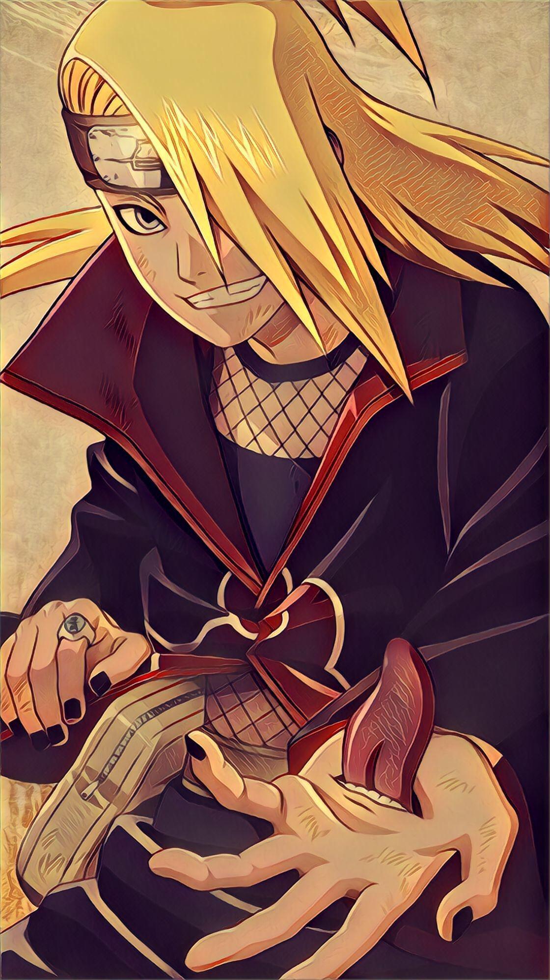 Deidara Naruto Wallpapers Narutoshippuden Narutowallpapers Animewallpaper Anime In 2020 Wallpaper Naruto Shippuden Anime Deidara Akatsuki