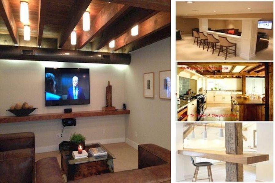 Finished Basement Design Ideas Decorate Unfinished Basement