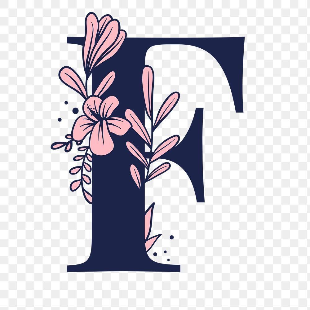 Letter F Script Png Floral Alphabet Free Image By Rawpixel Com Tvzsu Lettering Alphabet Fonts Lettering Alphabet Alphabet