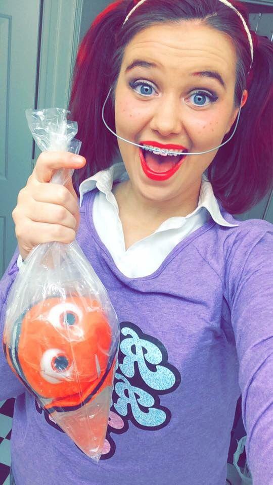 DIY Darla Halloween Costume - Finding Nemo | Customes | Pinterest ...