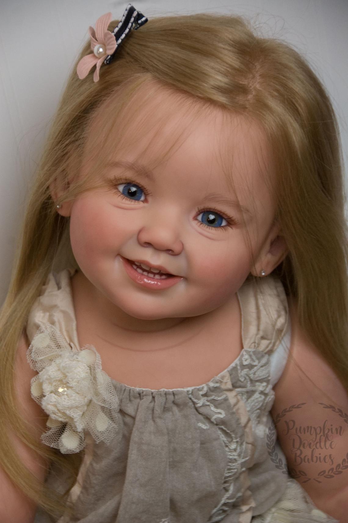 Custom Order Reborn Toddler Doll Baby Girl Cammi By Ping Lau Etsy Reborn Toddler Dolls Reborn Toddler Realistic Baby Dolls