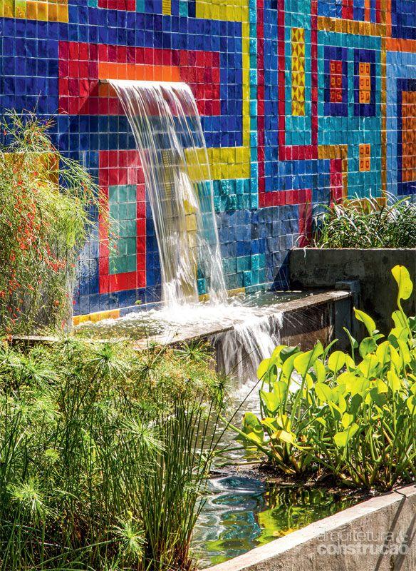 Jardim no Rio é uma verdadeira lembrança de Burle Marx - Casa