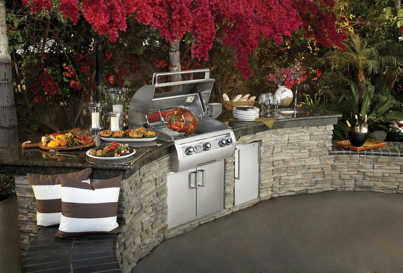 Fire Magic Echelon E790i Bugambilia Outdoor Built In Grill By Western Outdoor Living Built In Outdoor Grill Outdoor Kitchen Design Build Outdoor Kitchen