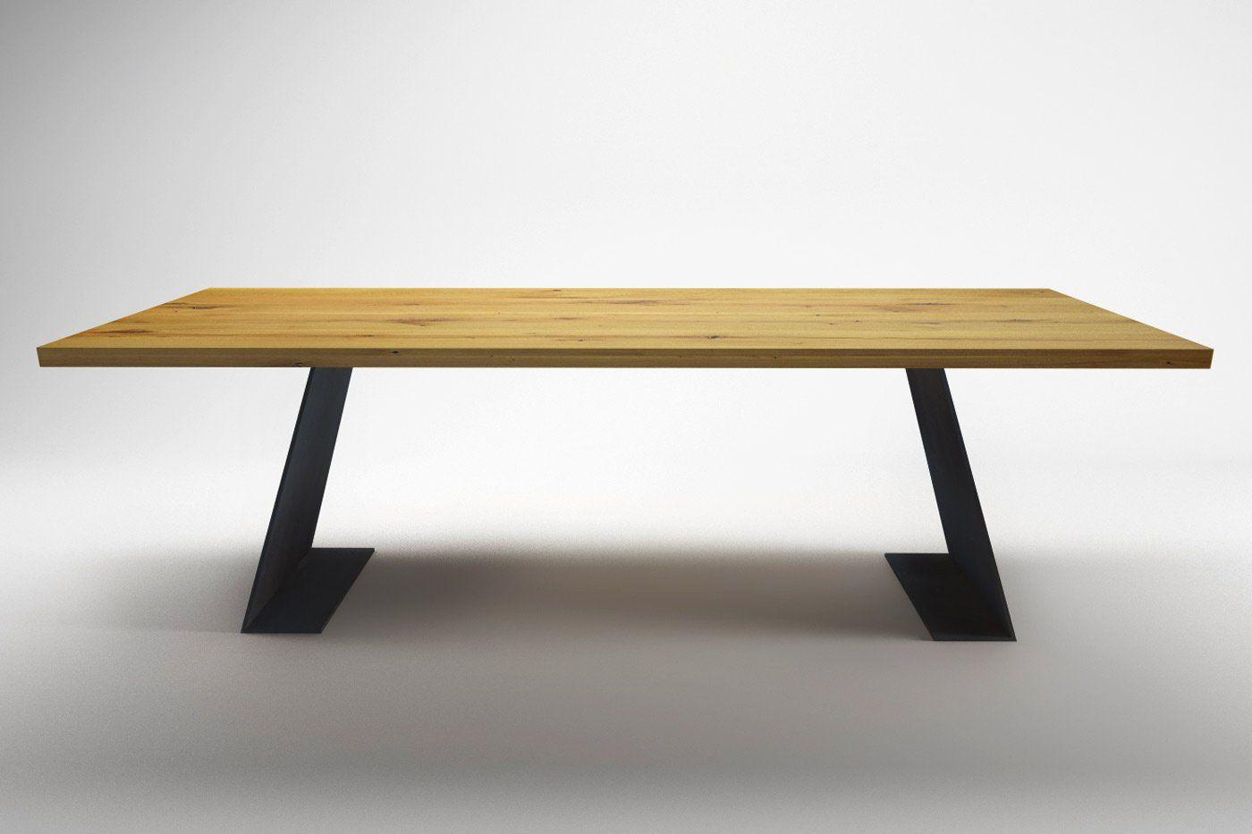Holztisch design esstisch  Tisch Wangen Farum Stahl - Ansicht 4 | Wohnsektion | Pinterest ...