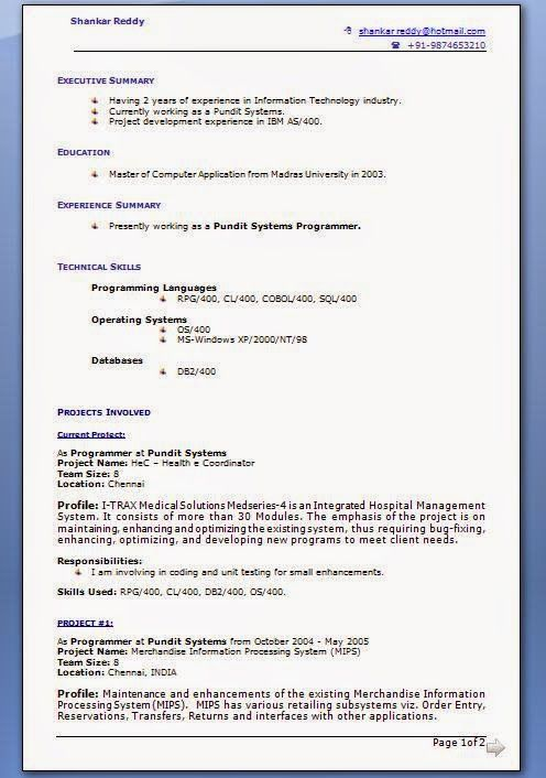 how make cv sample template example ofexcellent cv resume how to make cv