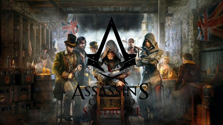 Assassins Creed Syndicate Game Wallpaper Hd Logo 2560x1440 Assassins Creed Syndicate Assasins Creed Assassins Creed