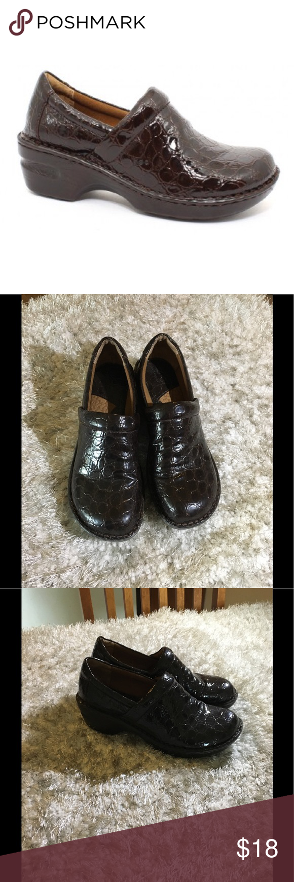 B•o•c Nursing Shoes Excellent Condition Pretty And Colorful Clothing, Shoes & Accessories