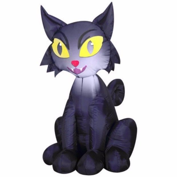 Inflatable Cat Halloween Decorations Airblown Inflatables Outdoor - outdoor inflatable halloween decorations