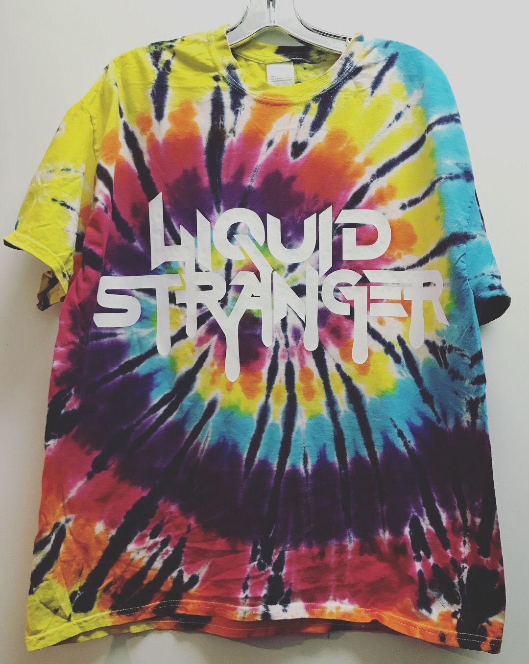 130abf67a4c Liquid Stranger Tie Dye T-shirt Festival clothing Rave outfit Raver Rave  girl Dubstep Edm Electric forest Electric daisy carnival EDCLV edc  Insomniac ...