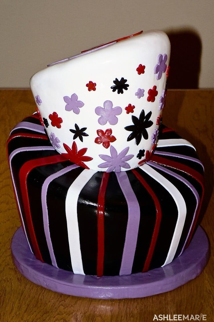 teenage girl party cake