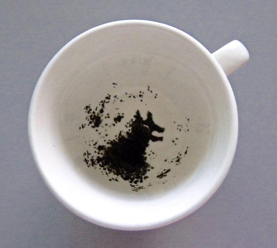 Harry Potter Grim Inspired Tea Cup By Clarityartwork On Etsy Teetasse Blauer Tee Tassen