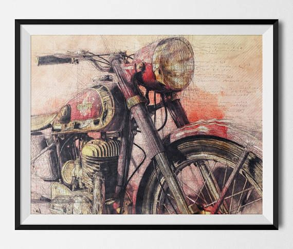 Triumph Motorbike Triumph Motorcycle Motorcycle Art Moto