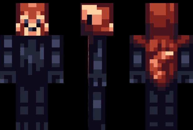 Red Panda Minecraft Skin Minecraft Time Pinterest