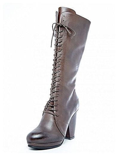 Prophecy Damen Schuhe Stiefel Braun Rot Leder Größe 37 37 37 Stiefel für ... 8f0617