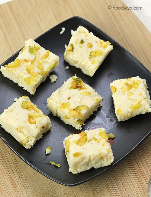 Kalakand Recipe With Paneer And Condensed Milk Instant Recipe Recipe Milk Recipes Condensed Milk Recipes Recipes
