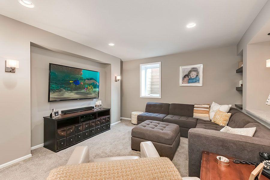 23 Basement Home Theater Design Ideas For Entertainment Beauteous Living Room Home Theater Ideas Design Inspiration
