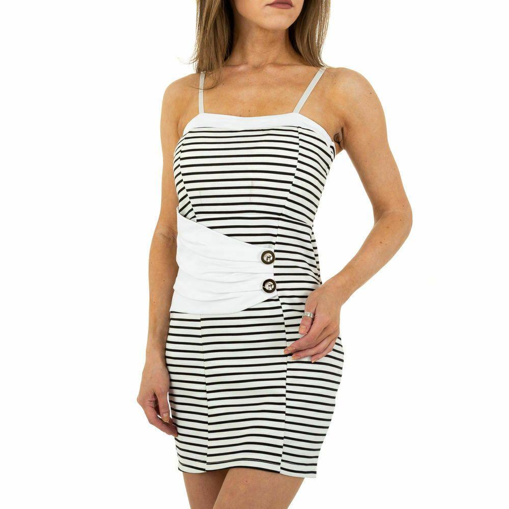 KURZES DAMEN KLEID L/XL Weiß 18 in 18  Modestil, Kleider, Damen