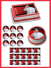 Pope Francis 1 Edible Birthday Cake OR Cupcake Topper – Edible Prints On Cake (EPoC)