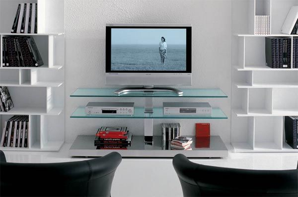 Play Plasma Tv Stand By Italia Cattelan Modern Tv Stand Glass Tv Stand Interior Design With Glass Glass tv stands for flat screens