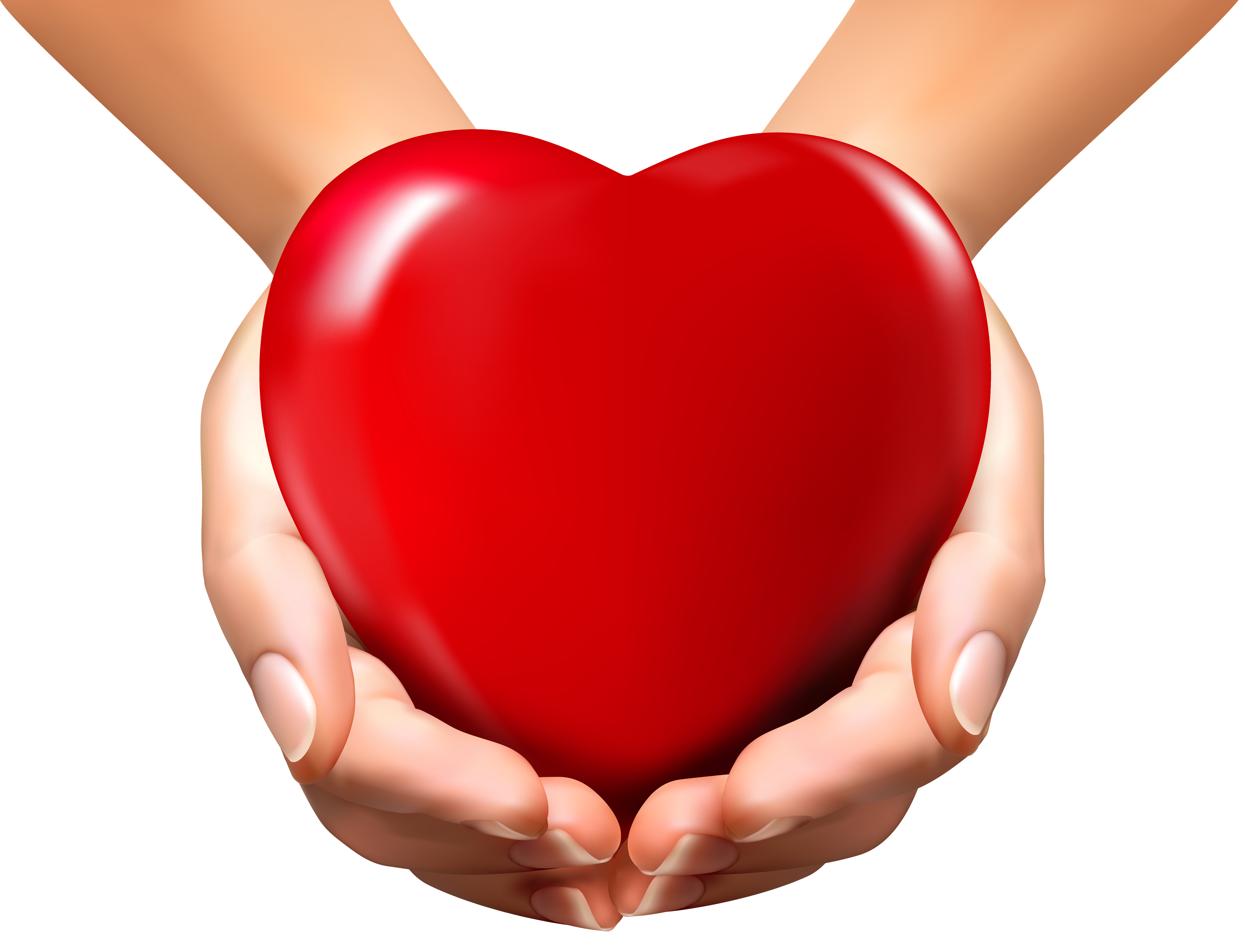 Online Hands with Heart PNG Clipart Image | clipart | Pinterest