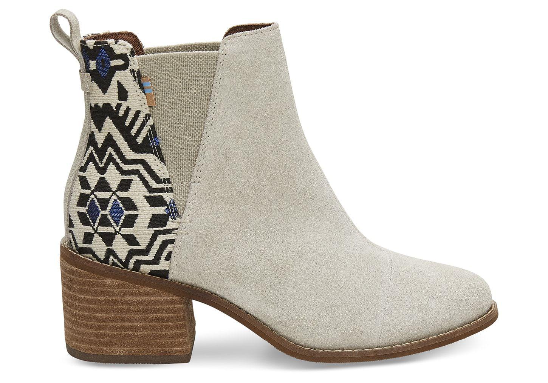 ca015570b Birch Suede Metallic Jacquard Women's Esme Boots | Xmas ideas ...