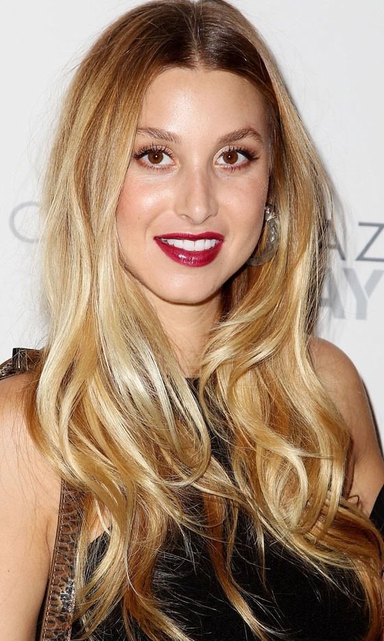 Whitney Port Is Another La Girl Showing Off Long Golden Locks