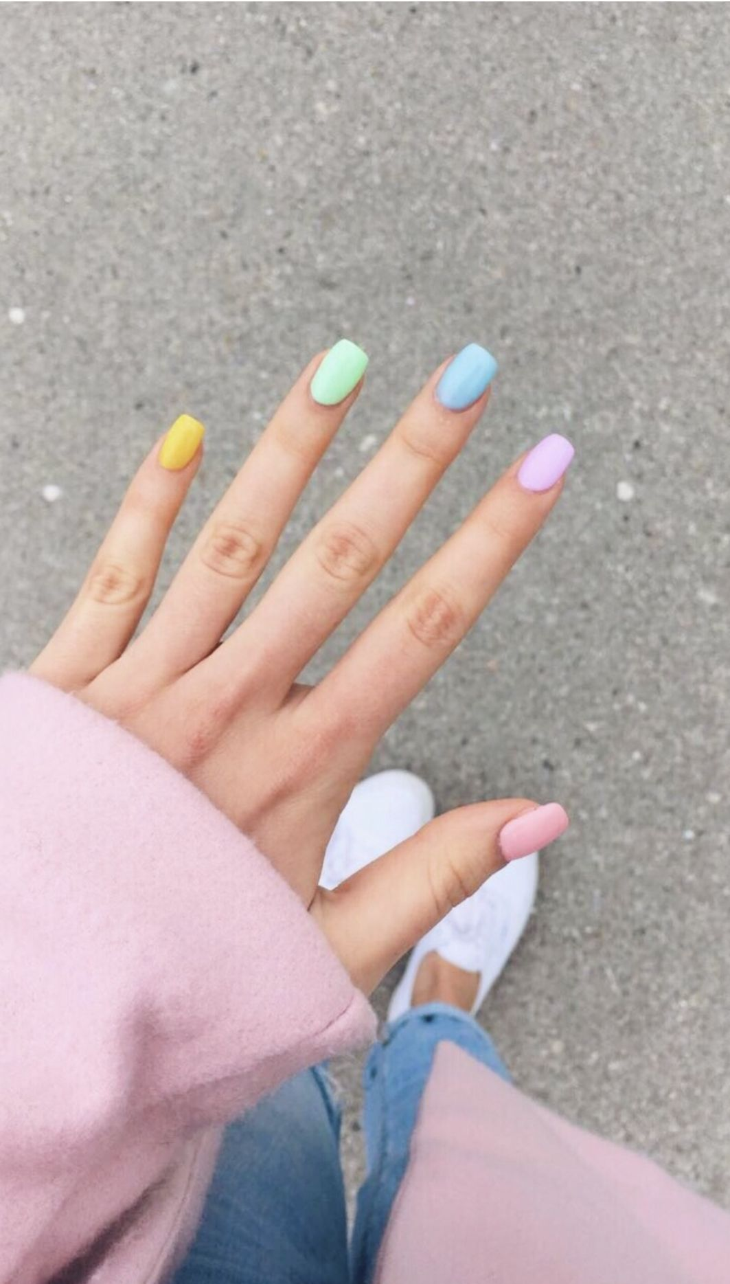 Those Are Really Pretty Colors Cute Acrylic Nails Pastel Nails